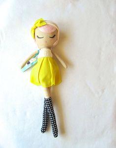 Custom Classic Cloth Doll by Mend by MendbyRubyGrace on Etsy, $100.00