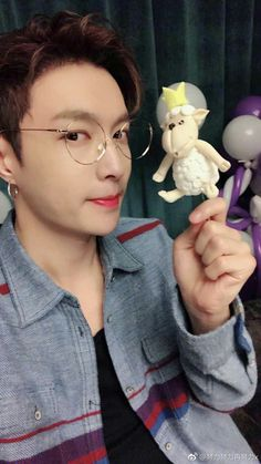 really like sheep /OMG/ but ur the cutest sheep Kyungsoo, Yixing Exo, Exo Korean, Korean Boy, Exo Ot12, Chanbaek, Tao Exo, Cute Sheep, Fandom