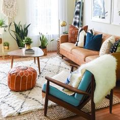 Living Room - The latest in Bohemian Fashion! These literally go viral!