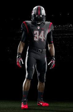 Rutgers Nike - Black on black - front view