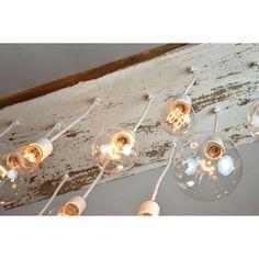 TEXAS BARNWOOD CHANDELIER | Edison Bulb, Industrial Lighting | UncommonGoods