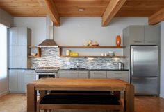 single wall kitchen design