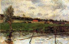 Riverside (Breton landscape) - Paul Gauguin