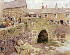 """""""el viejo puente de `relebbus`"""" de Stanhope Alexander Forbes (1857-1947, Ireland)"""