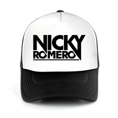 Trucker Hat Nicky Romero, DJ Mesh Cap. Shop for more DJ Trucker Hat and DJ Mesh Cap at DJTSHIRT.WEBSITE Get 35% off discount for new customers.