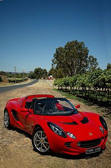 Lotus Elise: one of my earliest love affairs. for some reason I didn't like picking common or well known cars...