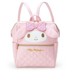 Sanrio Japan My Melody Wire-cored Backpack (Medium Size)