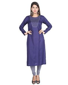 Modest Forever Latest Designer Blue Bead Embroidery Kurti For Womens XLarge_Blue -- To view further for this item, visit the image link. (This is an affiliate link) Blue Beads, Latest Fashion For Women, Beaded Embroidery, Kurti, Image Link, Cold Shoulder Dress, Dresses For Work, Design