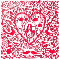 Take a trip down Columbia Road, London on a Sunday morning and pop in to Ryantown and ogle at the beautiful creations from Rob Ryan. Illustrations, Illustration Art, Rob Ryan, Chinese Paper Cutting, Paper Artist, Silhouette, My Favorite Color, Creations, Paper Crafts
