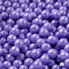 Edible Candy Pearls - Lavender Shimmer 7mm