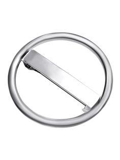 Pasador para el pelo en forma círculo-(Sheinside)