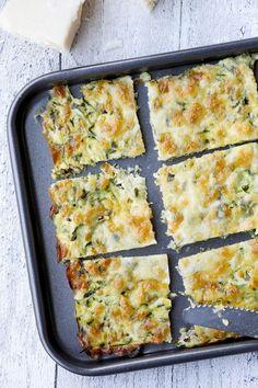 Low Carb Zucchinisticks mit Mozzarella, Parmesan und Zucchini - Gaumenfreundin Foodblog #lowcarbrezepte #gesunderezepte #lchf #vegetarischerezepte