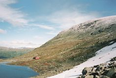 Cabin in Jotunheimen, Norway.The structure was built in 1938 by the members of Norsk Tindeklubb, the Norwegian Mountaineering Club. Contributed by Sindre Fosse.