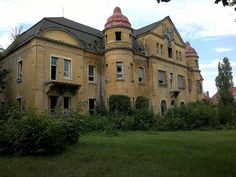 Abandoned Barracks in Most City