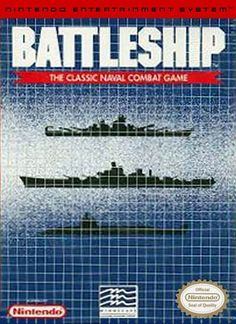 #Battleship - Label or Box Art #nintendo games #gamer #snes #original #classic #pin #synergeticideas #gameon #play #award