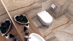 Mała łazienka w dwóch odsłonach - Malaga, Toilet, Bathroom, Washroom, Flush Toilet, Bathrooms, Litter Box, Toilets, Bath