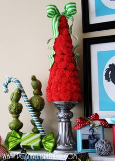 Homemade mini-Christmas trees that will bring the Christmas mood (19 photos)