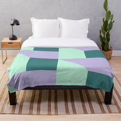 Do You Like mint, green, lila, purple,shapes,geometric, pattern and triangle Throw Blanket ??  a perfect gift for you your family your and your friends!!