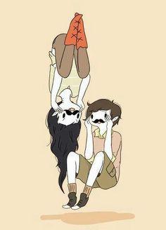 Marceline And Marshall Lee.
