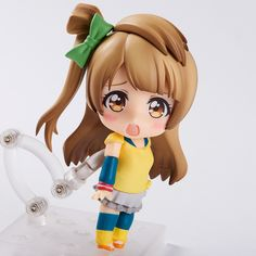 The gentle and innocent Kotori-chan! ♪ From the popular anime series Love Live! comes a Nendoroid of Kotori Minami wearing her training outfit! She comes with two expressions including a lovely smile as well as a cute pleading expression that no one could say no to! She also comes with a Nendoroid-sized version of the sketchbook she uses to plan the μ's members outfits, and a special 'holding ... #tokyootakumode #figure #Kotori_Minami #Love_Live_Series #Love_Live!