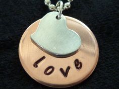 simple and cute metal stamped jewelry