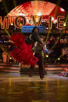 Alexandra Burke, Gorka Marquez - (C) BBC - Photographer: Guy Levy Strictly Come Dancing 2017, Gorka Marquez, Alexandra Burke, Ice Dance, Dance Moves, Bbc, Bring It On, Ballet, Entertaining