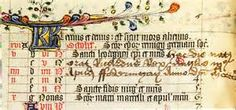 Richard III's entry of his birth date in his Book of Hours