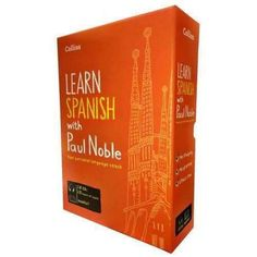 Collins Learn Spanish with Paul Noble Audio Book CD Booklet Collection Box Set