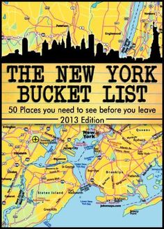 The New York City Bucket List - 50 Places you have to see before you leave by Kata Varga, http://www.amazon.com/dp/B00BSEN36U/ref=cm_sw_r_pi_dp_110qrb0A4NTAF