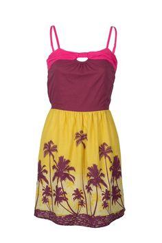 Tropical dress