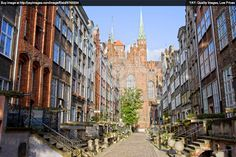 Gdansk Old Town | Royalty Free Image of Mariacka Street In Gdansk, Poland