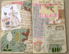 Pam Garrison's journal page