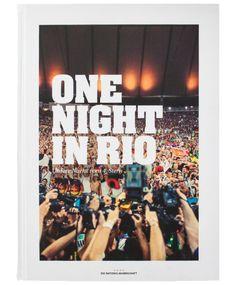 """Das Geschenk des Jahres für 29,90! Buch: ONE NIGHT IN RIO """"Fanedition""""."""