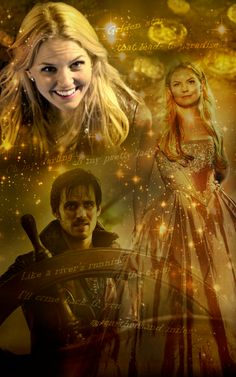 Once upon a time - Captain Hook - Colin O'donoghue - Killian Jones - Emma & Hook - Captain Swan - Jennifer Morrison - Emma Swan