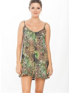 This magical jungle free sheer dress represents the triumph of imagination! Wear it this summer time and travel to fashion wonderland. FEATURES Round U neckline Comfortable fit Flowy design Short dress SIZE Small, Medium, Large Dresses 2016, Short Dresses, Sheer Dress, Beach Dresses, Summer Time, Imagination, Wonderland, Neckline, Rompers