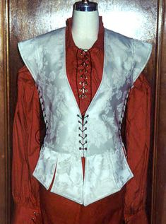 Men's Doublets and Shirts by Crimson Gypsy Designs.  Elizabethan Doublet, Renaissance Doublet, Pirate Shirt, Renaissance Shirt.
