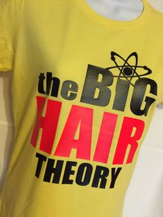 A personal favorite from my Etsy shop https://www.etsy.com/listing/256627483/hair-theory-fitted-tee