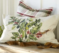 $39, pillow cover at Pottery Barn