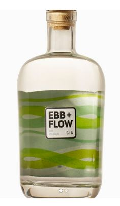 Ebb+Flow Gin. 47 % ABV. Contemporary. Goes down like a liquid key lime pie, only briefly does the juniper give you a touch of spice mid-palate to remind you that it is a gin.