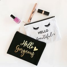Check out the deal on Make Up Bags - Theme at Wedding Favorites | Unique Wedding Favors | Baby Shower Favors | Bridal Shower Favors