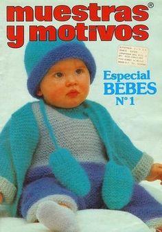 Revista: Muestras y Motivos Especial Bebes №1 - rețea Knit - CREATIVE MAINI - Publisher - vergele