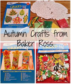 Northumberland Mam: Autumn Crafts from Baker Ross.