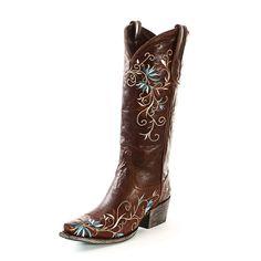 Lane Brown Ametria Cowgirl Boots