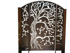 Unique Australian made Gate By overwrought - 3 Panel Tree Gate