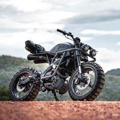 Custom Yamaha scrambler by K-Speed Tracker Motorcycle, Scrambler Motorcycle, Moto Bike, Motorcycle Design, Motorcycle Style, Trail Motorcycle, Honda Scrambler, Retro Motorcycle, Motorcycle Quotes