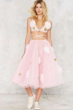 Dyspnea Fairytulle Patch Skirt