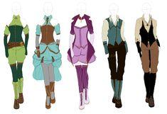 Outfit Design: Steampunk by Dinloss.deviantart.com on @DeviantArt