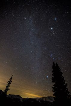 The Milky Way, Breckenridge, Colorado