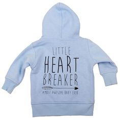 Lullaby Rock_Little_Heart_Breaker_Hoody_Blue_Back *Shop online at www.lullabyrock.co.za Back Shop, Blue Back, Instrumental, Hoody, Sweaters, Rock, Shopping, Heart, Products