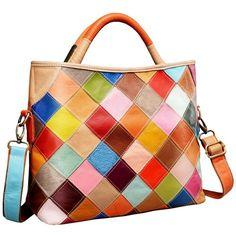 On Clearance Heshe Womens Multi-color Shoulder Bag Hobo Tote Handbag Cross  Body Purse - Colorful-2b4029 - C712F0UZZPL 2b3e54e32e1a9